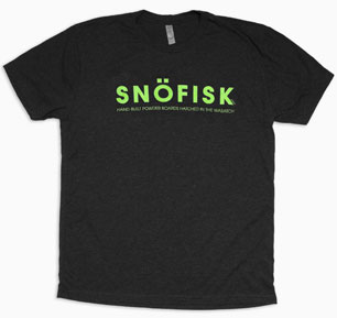 Men's Snöfisk Classic Logo T-Shirt